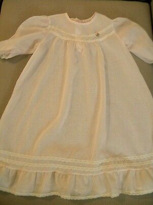 Baby Girl's Long Night Gown Pink XL