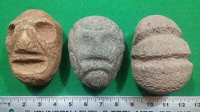 3 - Taino stone Carvings - Age Unknown