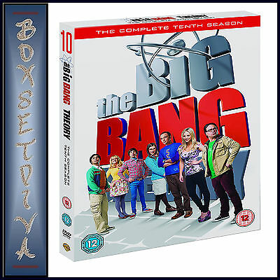 The Big Bang Theory - Complete Season 10 - Tenth Season *brand New Dvd ***