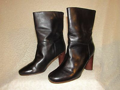 Marc By Marc Jacobs, Black Leather Booties, size  38.  ( 7.5 - 8 )