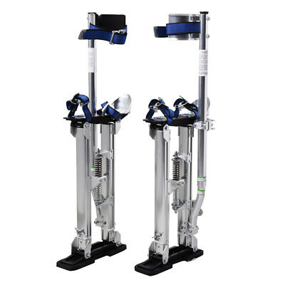 18-30 Inch Drywall Stilts Aluminum Tool Painters Walking Taping Finishing Sliver