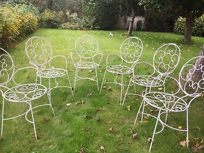 French Style Garden Chairs