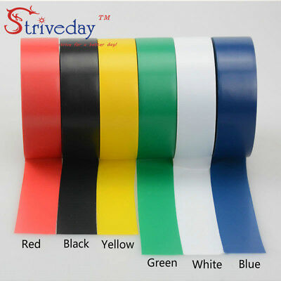 6pcs/lot Electrical Tape High Temperature Insulation Waterproof PVC Tapes