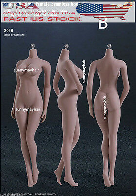 TBLeague S06B Super Flexible Phicen Big Bust Female 1/6th Figure Body Doll Toy