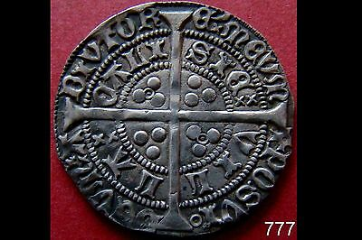 Great Britain 1422-61 HENRY - VI First Reign Hammered Silver Groat