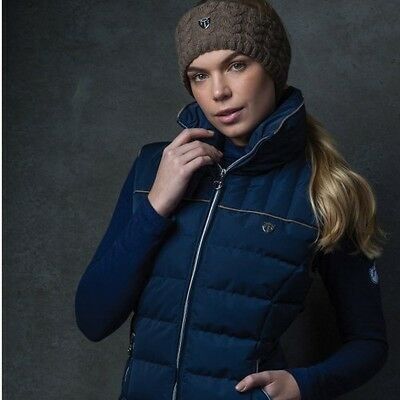 Equetech Kingsley Gilet - Navy Or Mink