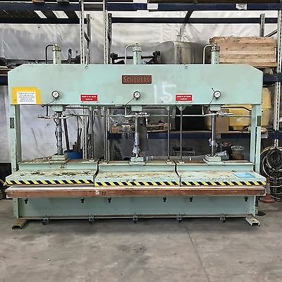 Schubert Dsp 3 Cold Laminating Press 3 Bed Sections