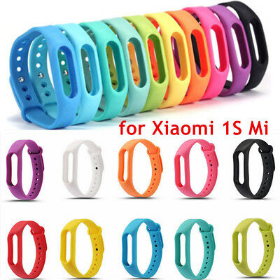 TPU Replacement Wrist Band Wristband Strap Belt for Xiaomi 1S Mi Band Bracelet