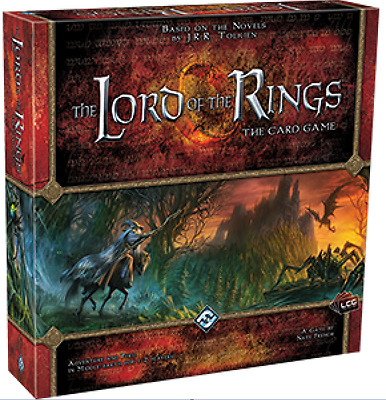 lord of the rings The card game (LCG) core game + 2 expansions Brand New