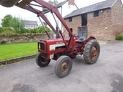 International 434 Tractor and Loader, in very good original condition, Log Book