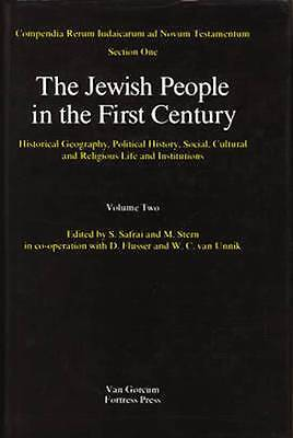 The Jewish People in the First Century. Volume two. Brand new in seal.