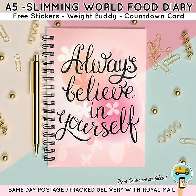 Food Diary Diet Journal Slimming World Compatible Weight Loss Tracker DB Achieve