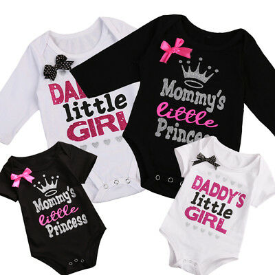 Newborn Baby Girls Infant Romper Jumpsuit Bodysuit Tutu Dress Clothes Outfit New