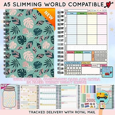 Food Diary Diet Journal Slimming World Compatible Weight Loss Tracker NTAGASFeel