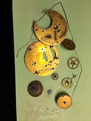 A Part Watch Movement By Barraud's