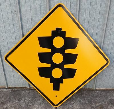Sign Mancave man cave SIGN TRAFFIC LIGHTS ahead  Wow.  Nice