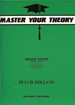 *NEW* MASTER YOUR THEORY Book by Dulcie Holland Grade 7