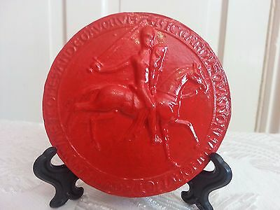Plaster Replica of King Richard I Medieval Great Wax Seal
