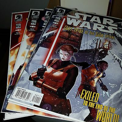 Star Wars Lost Tribe of the Sith Spiral (2012) Lot, Complete Series Set w/#s 1-5