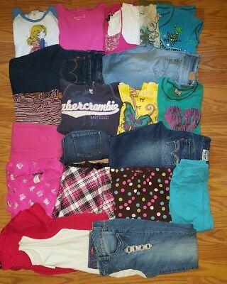 HUGE lot of Girl clothes size 14 16 14/16 juniors small 00 Trendy Fall School