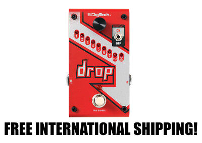 DigiTech Drop FREE INTERNATIONAL SHIPPING