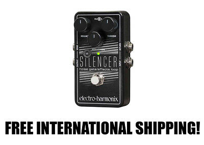 Electro-Harmonix The Silencer Noise Gate/Effects Loop FREE INTER SHIPPING