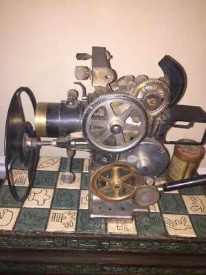 Rare vintage early 1900's 35mm Powers 6 cameragraph projector.