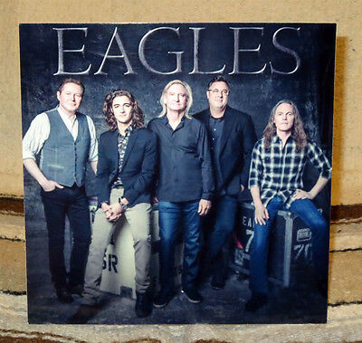"Eagles Rock Group Tabletop Standee 8"" X 8""  or 8"" X 10"""