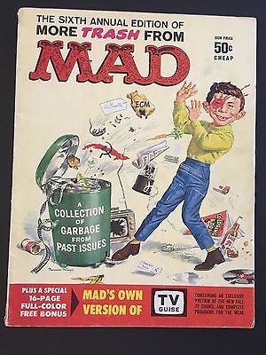 MAD Magazine Sixth Annual Edition of MORE TRASH
