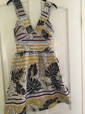 H & M Summer Dress Size 2 ( U.K. 6)