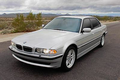 2001 BMW 7-Series IL 2001 bmw 740il SPORT package Low Miles EXTREMELY CLEAN!