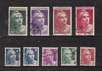 France Collection. Early Definitive Stamps. High Values.