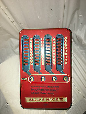 Vintage Wolverine Manual Operated Adding Machine
