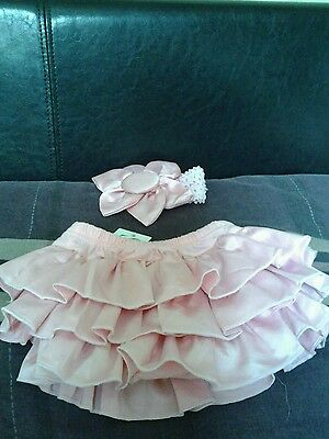 Baby rara skirt and matching headband
