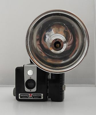 Vintage Kodak Brownie Flash Camera w/Kodalite Flasholder
