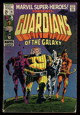 Marvel Super-Heroes (1967) #18 1st Print 1st App Guardians Of The Galaxy GD/VG