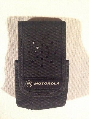 New OEM Motorola MINITOR III/IV CARRY CASE