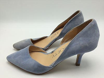 c6871b79b7 4E5 Sole Society Jenn Suede Dressy Kitten Heel Pumps Fashion Women Shoes  Size 6