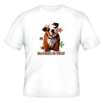 Nature Pets Animals T-shirt Dog Doggy Puppy Puppies Am I Cute Or What