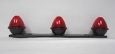Grote 49002 Red Beehive Type Light Bars Clearance Markers