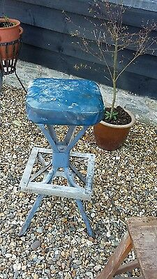 evertaut industrial factory high stool chair to restore barn find