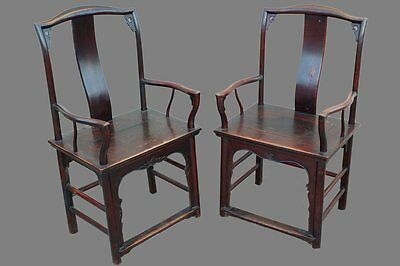 Antique Chinese Scholars Chairs