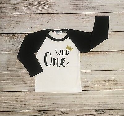 18-24 Months Wild One Long Sleeve Top Cute Trendy