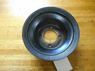 Nos 1970 1971 1972 Ford Mustang Torino 302 351 Lower Crank Pulley W/ Air Cond