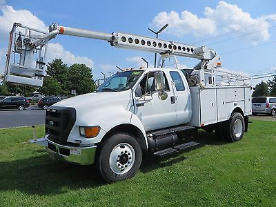 Ford F-750 Super Cab, XL Super Duty, Utility, Cable Truck