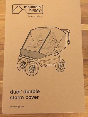 Mountain Buggy Duet Double Storm Cover