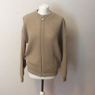 Daisy Street Knitted Bomber with tags, Size XL