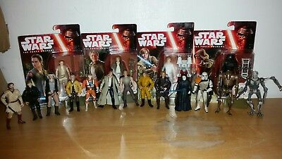 Star Wars Figure Collection New & Used Joblot Of 17 Figures