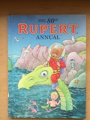 THE 80th RUPERT THE BEAR ANNUAL BY EXPRESS NEWSPAPERS.