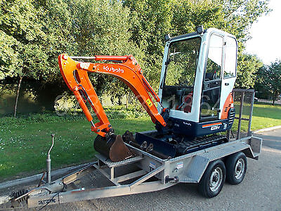 KUBOTA kx36-3 mini digger 1.5T with or without Indespension trailer
